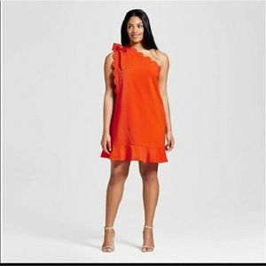 NWT Victoria Beckham for Target orange dress
